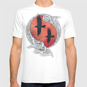 HUGIN&MUNIN T-shirt by raidho