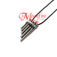 Pan Flute Musical Pipes Necklace