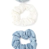 Lace Scrunchie Set | Forever 21 - 1000053342