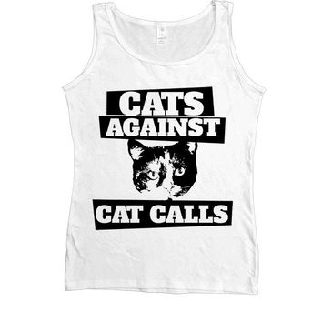 Cats Against Catcalls #3 -- Women's Tanktop