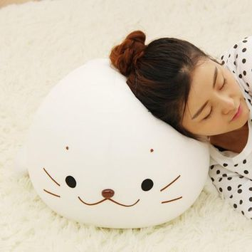 Super Soft Squishy Plush Seal Doll Sea Lions Plush Toys Cuddle Pillow Kids Toys Lovely Girlfriend Best Gifts Brinquedos WW377