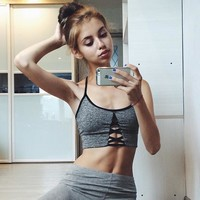 Yoga Summer Women's Fashion Sexy Sports Sports Bra [11843101455]