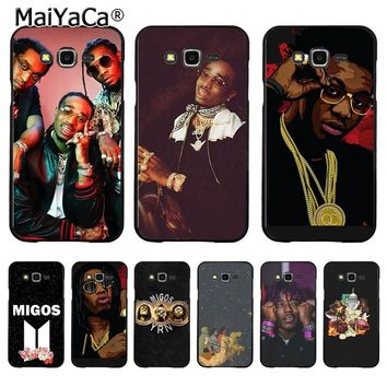 Migos DIY Painted Beautiful  Phone Case for Samsung J1 J3 J5 J7 Note 3 Note 4 Note 5