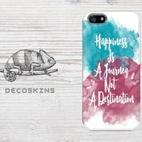 Watercolor quote case iPhone 5 iphone 4 Samsun Galaxy S3 S4 Xperia Z 3D Case, iphone case, hard case plastic case