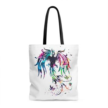 Phoenix Bird Tote Bag