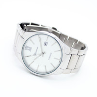 Classic date metal watch (3 colors)