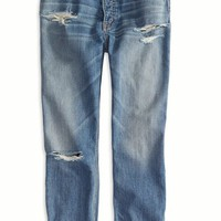 AEO Women's Tomboy Jean (Medium Destroyed)