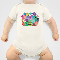 Monsters Baby Clothes by Maria Jose Da Luz