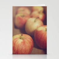 Apples Stationery Cards by Dena Brender Photography