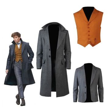 Fantastic Beasts Cosplay and Where to Find Them2 Costume Newt Scamander Bulma Carnival Adult Costumes Halloween Fantastic Animal