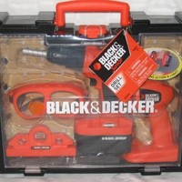 Black and Decker Junior Drill Set (Hang Tag)