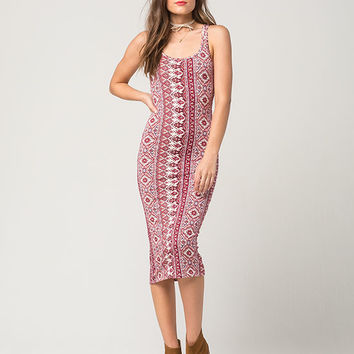 BILLABONG Share Joy Midi Dress