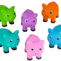 """2"""" pig water squirter toy Case of 288"""