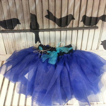 Tutu Blue Baby Skirt Tutu Toddler Tutu Birthday