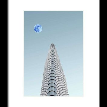 Urban Architecture - London, United Kingdom 6a - Framed Print