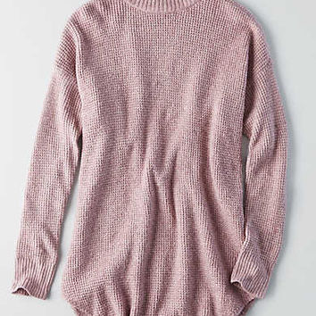 AEO Ahh-mazingly Soft Mock Neck Sweater, Lavender