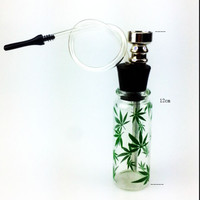 Quality Mini Hookah Mini Smoking Pipe Glass Pipe Water Pipe Small Shisha Fashion Popular  pattern New style