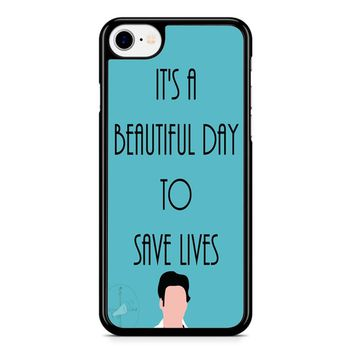 Greys Anatomy Shepherd iPhone 8 Case
