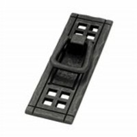 Liberty Hardware | PN8006-SAM-A | Black | Cabinet Hardware > Ring Pulls