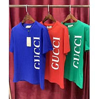 GUCCI New fashion letter print couple top t-shirt