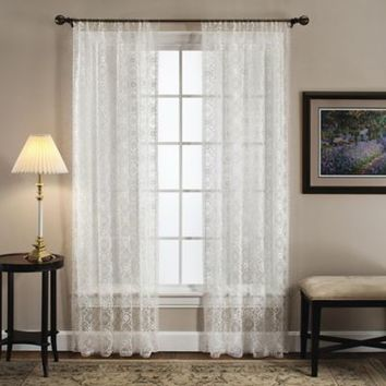 Today's Curtain Richmond Macram Window Curtain Panel