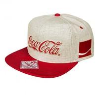 Grey And Red Coca Cola Baseball Cap : TruffleShuffle.com