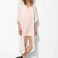 MINKPINK Dance With Me Lace Kimono Jacket - Urban Outfitters