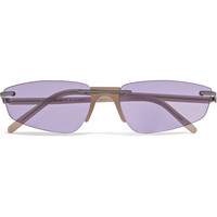 Andy Wolf - Ophelia cat-eye acetate sunglasses
