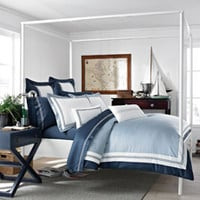 Southern Tide Maritime King Duvet Cover
