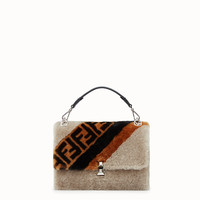 Multicolor sheepskin bag - KAN I | Fendi | Fendi Online Store