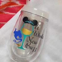 Disney Princess Jasmine Food And Wine Festival Cup