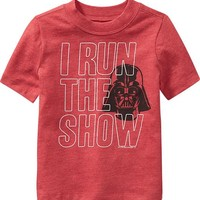 Old Navy Star Wars Darth Vader Tees For Baby