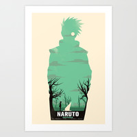 Naruto Shippuden Art Print by GIOdesign
