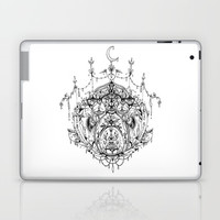 Moonlit Lotus Laptop & iPad Skin by PreeyArt