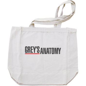 Greys Anatomy Tote bag  BE008 12 oz.