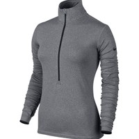 Nike Women's Pro Hyperwarm Fitted Half Zip 3.0 Long Sleeve Compression Shirt | DICK'S Sporting Goods