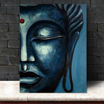 Canvas Painting Wall Art Pictures plant Buddha home decor prints on canvas painting wall decoration for living room no frame