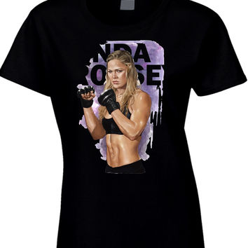 Ronda Rousey Expendables Womens T Shirt