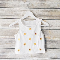 Karissa Sunflower Tank