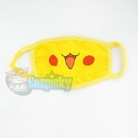 Pokemon Pikachu Cute Face Dust Mask CP152223