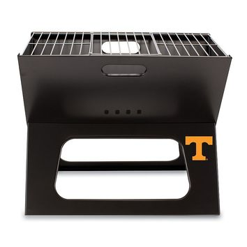 Picnic Time Tennessee Volunteers Portable X-Grill (Black)