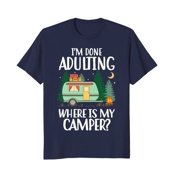 Funny Camping shirt showing about your lover with travelling