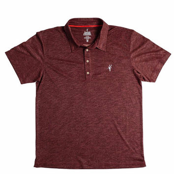 Toes on the Nose Vanguard Polo Raisin