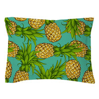 Crazy Pineapples Pillow Shams