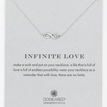 Women's Dogeared 'Reminder - Infinite Love' Pendant Necklace