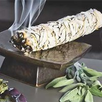 White Sage Wildcrafted Smudge Stick, IsabellaCatalog.com