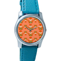 Quirky Baba Pattern Wrist Watch