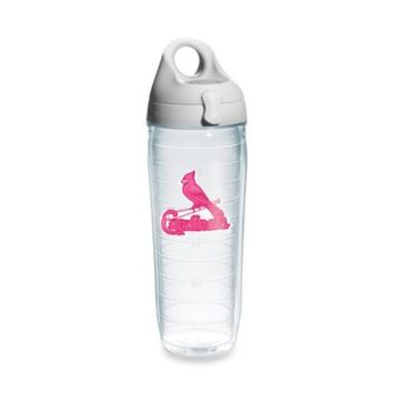 Tervis® St. Louis Cardinals Emblem 24–Ounce Water Bottle with Lid in Neon Pink