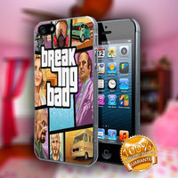 Breaking Bad GTA - Print on hard plastic case for iPhone case. Select an option