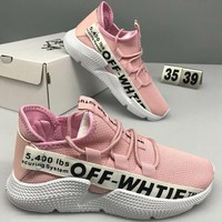 OFF-WHITE 2018 New Style Personalized Comfortable Sneakers F-CSXY pink